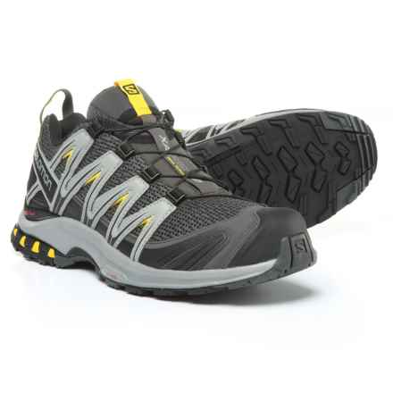 Salomon XA Pro 3D Trail Running Shoes (For Men) in Magnet/Monument/Sulphur - Closeouts