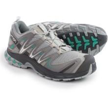 Salomon XA Pro 3D Trail Running Shoes (For Women) in Light Onix/Dark Cloud/Softy Blue - Closeouts