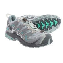 Salomon XA Pro 3D Trail Running Shoes - Quicklace (For Women) in Onix/Dark Cloud/Softy Blue - Closeouts