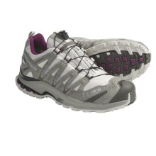 Salomon XA Pro 3D Ultra 2 Gore-Tex® Trail Running Shoes - Waterproof (For Women) in Light Grey/Titanium/Purple - Closeouts