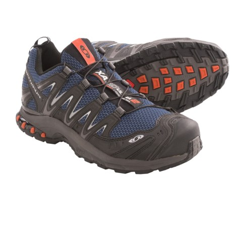 Salomon XA Pro 3D Ultra 2 Trail Running Shoes (For Men) in Blue/Black/Sunset
