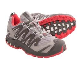 Salomon XA Pro 3D Ultra 2 Trail Running Shoes (For Women) in Aluminum/Autobahn/Papaya-B