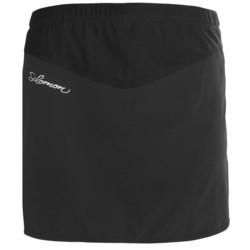 Salomon XA Series Twinskin Skirt - UPF 40+, Built-In Mesh Brief (For Women) in Very Purple