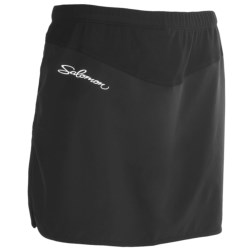 Salomon XA Twinskin Skort - UPF 40+ (For Women) in Black