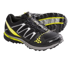 Salomon XR Crossmax Guidance CS Trail Running Shoes - Waterproof (For Men) in Black/Yellow/Pewter - Closeouts