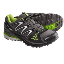 Salomon XR Crossmax Neutral CS Trail Running Shoes (For Men) in Autobahn/Black/Green - Closeouts