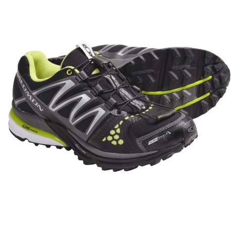 Salomon XR Crossmax Neutral CS Trail Running Shoes (For Women) in Black/Autobahn/Light Green Bean