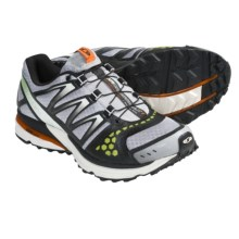 Salomon XR Crossmax Neutral Trail Running Shoes (For Men) in Aluminum/Black/Clementine - Closeouts