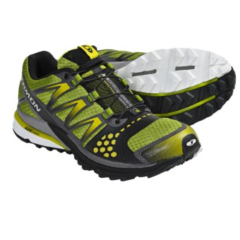 Salomon XR Crossmax Neutral Trail Running Shoes (For Men) in Kiwi Green/Black/Light S-Green
