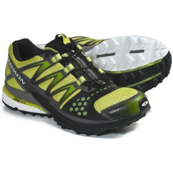 Salomon XR Crossmax Neutral Trail Running Shoes (For Women) in Green Bean/Black/Green Bean