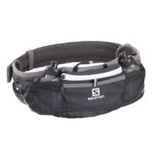 Salomon XR Energy Belt in Black/ Iron/ White - Closeouts