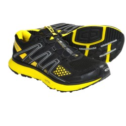 Salomon XR Mission Trail Running Shoes (For Men) in Onix/Cloud/Red