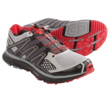 Salomon XR Mission Trail Running Shoes (For Men) in Onix/Cloud/Red - Closeouts
