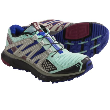 Salomon XR Mission Trail Running Shoes (For Women) in Igloo Blue/Spectrum Blue/Black