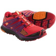 Salomon XR Mission Trail Running Shoes (For Women) in Papaya-B/Orange Feeling/Black - Closeouts