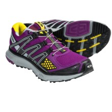 Salomon XR Mission Trail Running Shoes (For Women) in Very Purple/Black/Onyx - Closeouts