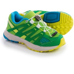 Salomon XR Mission Trail Shoes (For Kids and Youth) in Spring Green/Fern Green/Methyl Blue