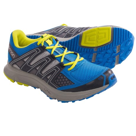 Salomon XR Shift Trail Running Shoes (For Men) in Bright Blue/Yellow/Onix