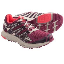 Salomon XR Shift Trail Running Shoes (For Women) in Bordeaux/Grey/Papay - Closeouts