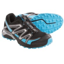 Salomon XT Hornet Trail Running Shoes (For Women) in Black/Dark Cloud/Blue - Closeouts