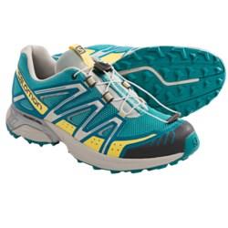 Salomon XT Hornet Trail Running Shoes (For Women) in Dark Azure Blue/Blue/Grey
