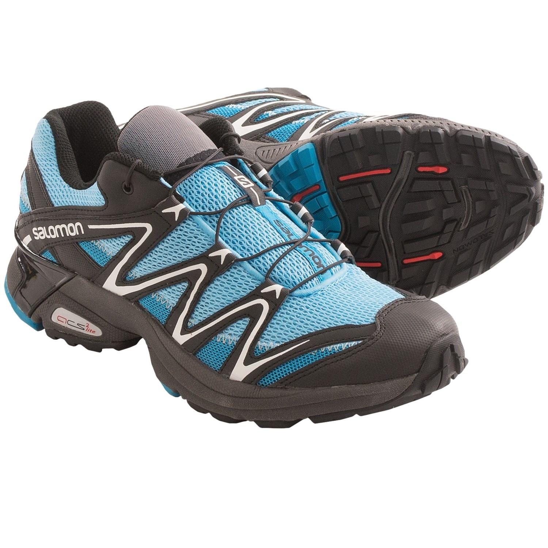 Salomon XT Salta Trail Running Shoes (For Women) in Boss Blue/Black