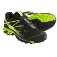 Salomon XT Wings 3 Trail Running Shoes (For Men) in Black/Black/Fluo Yellow - Closeouts