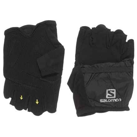 Salomon XT Wings Gloves (For Men and Women) in Black - Closeouts