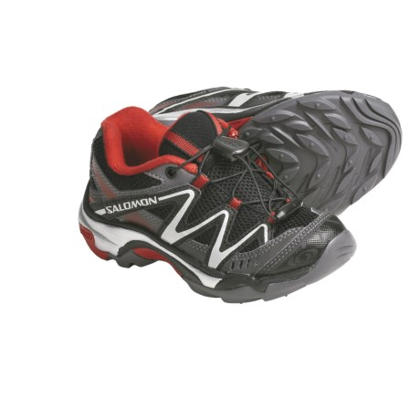 Salomon XT Wings Hiking Shoes (For Kids and Youth) in Black/Autobahn