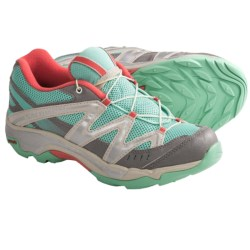 Salomon XT Wings Hiking Shoes (For Kids and Youth) in Celadon/Pewter/Papaya