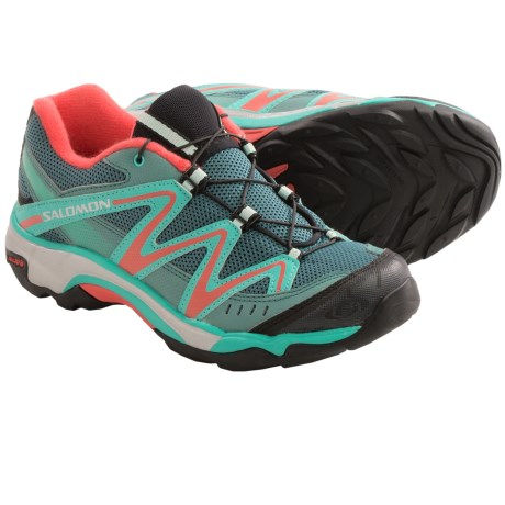Salomon XT Wings Hiking Shoes (For Kids and Youth) in Horizon Blue/Blackk/Papay