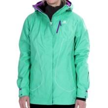 Salomon Zero 2L Jacket - Waterproof, Insulated (For Women) in Cascade Green - Closeouts