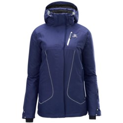 Salomon Zero Jacket  - Waterproof, Insulated (For Women) in Wizard Violet