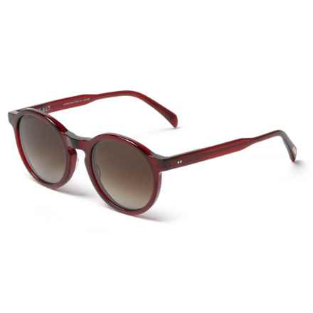 Salt Optics Francine 50 Round Sunglasses - Polarized (For Women) in Berry - Closeouts