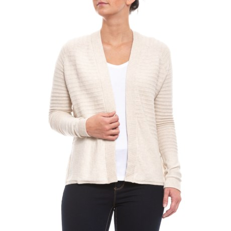 Image of Salt Summery Cardigan Sweater - Open Front (For Women)