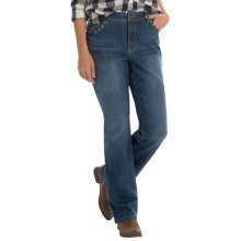 Samantha Studded Jeans - Straight Leg (For Women) in Denim - 2nds