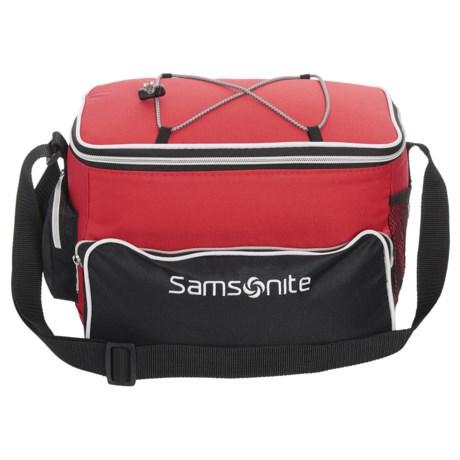 Samsonite 12-Can Cooler Bag - Bungee in Red