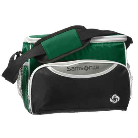 Samsonite 12-Can Cooler Bag in Green - Closeouts