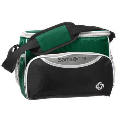 Samsonite 12-Can Cooler Bag in Green