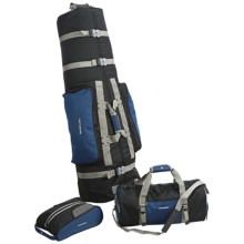 Samsonite 3-Piece Golf Travel Set in Blue/Black - Closeouts
