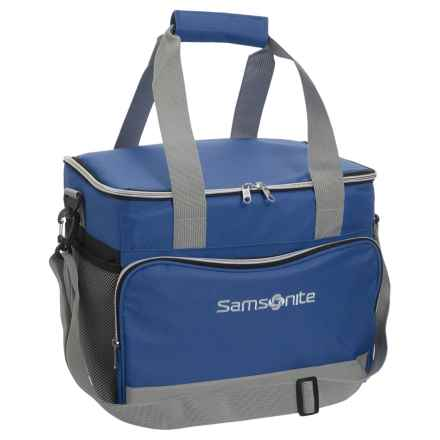 Samsonite 36-Can Collapsible Cooler Bag in Blue - Closeouts