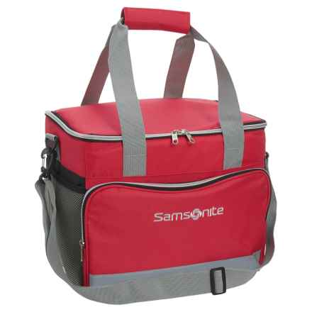 Samsonite 36-Can Collapsible Cooler Bag in Red - Closeouts