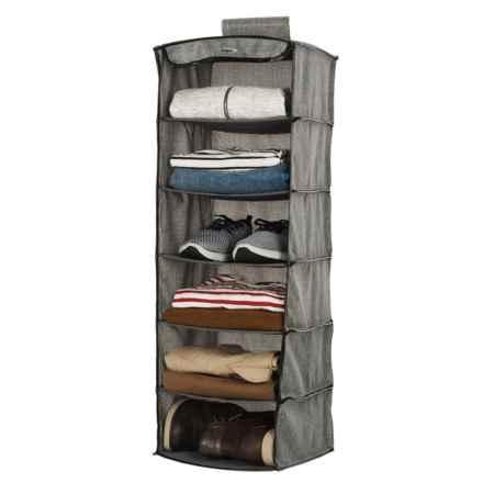 Samsonite 6-Tier Hanging Closet Organizer in Grey - Closeouts