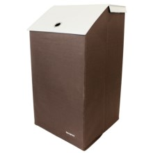 Samsonite Collapsible Laundry Hamper in Brown - Closeouts