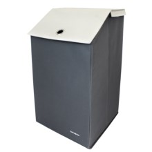 Samsonite Collapsible Laundry Hamper in Grey - Closeouts