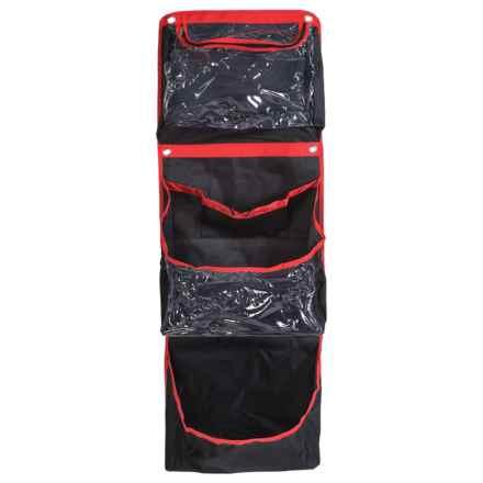 Samsonite Horizontal Storage Organizer - Wall Mount in Black/Red - Closeouts
