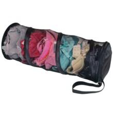 Samsonite Mesh Spiral Wash Bag in Black - Closeouts