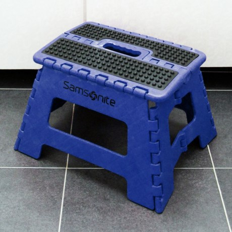 Samsonite Mini Extra Wide Folding Step Stool
