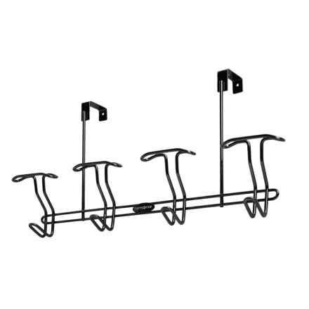 Samsonite Over-the-Door Hanger - 8 Hooks in Onyx - Closeouts