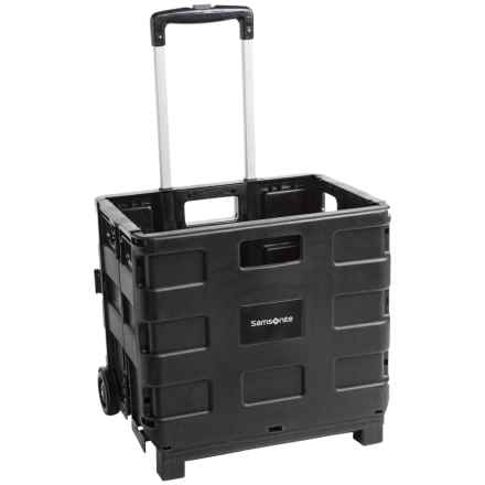 Samsonite Pack and Roll Trolley Cart in Black - Closeouts